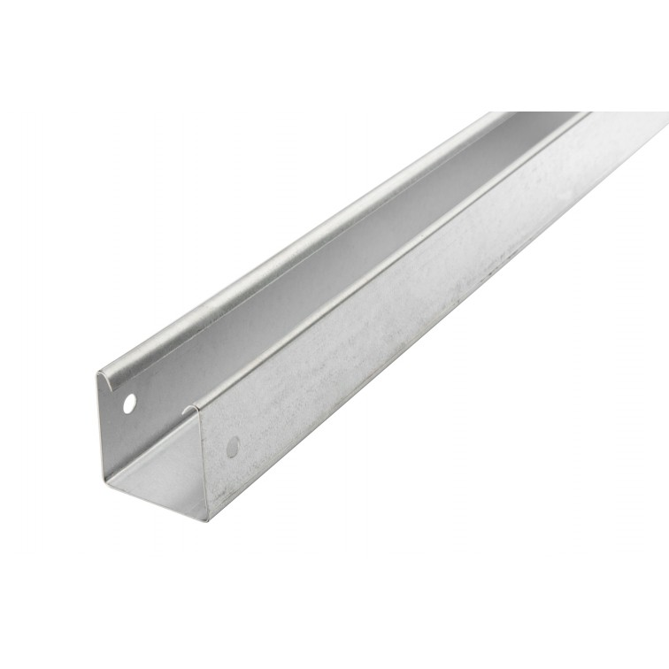 Unistrut Metal Lighting Trunking 50x50  Galvanised 3M Length (RLU2230)
